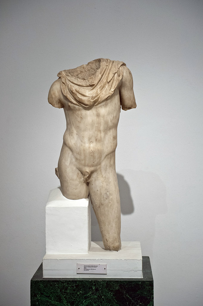 Sculpture en marbre de Mercure - Musée Archéologique de Séville
