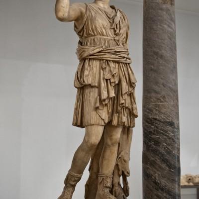 Sculpture de Diane chasseresse - Musée Archéologique de Séville