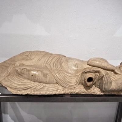 Nymphe endormie - Théâtre d'Italica (193-235 après J.-C.) - Musée Archéologique de Séville