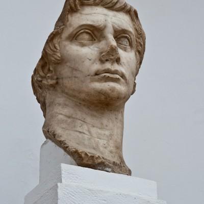 Tête colossale d'Auguste - Italica Santiponce - (20 - 40 après J.-C.) - Musée Archéologique de Séville