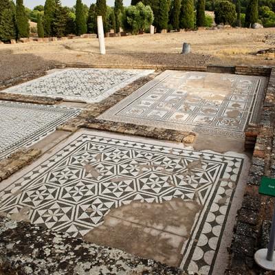 Mosaïques maison de Neptune - Italica, Santiponce (Séville)
