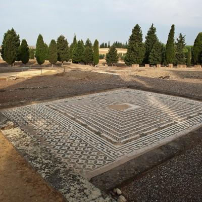 Maison de Neptune - labyrinthe - Italica, Santiponce (Séville)