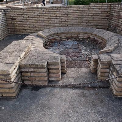 Four à pain - Maison des Oiseaux - Site romain d'Italica près de Séville