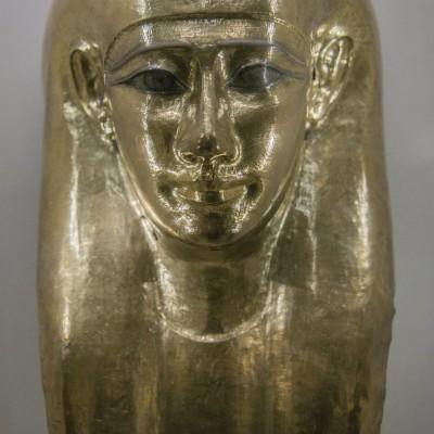 Masque funéraire - Egypte, Basse Epoque, 30e dynastie Musée Calouste Gulbenkian - Lisbonne