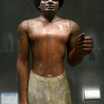 Statue funéraire - Egypte, Nouvel Empire, 18e dynastie (c. 1500-1300 av. J.-C. ) Musée Calouste Gulbenkian - Lisbonne