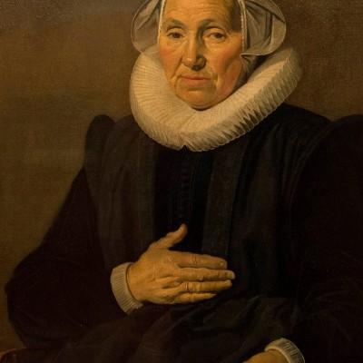 Portrait de Sara Andriesdr. Hessix - Frans Hals (1580-1666) - Hollande 1626 - huile sur toile - Musée Calouste Gulbenkian - Lisbonne