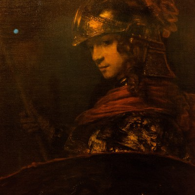 Pallas Athena - Rembrandt Harmensz van Rijn (1606-1669) - Musée Calouste Gulbenkian - Lisbonne