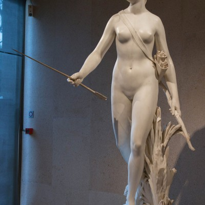 Diane -  Jean-Antoine Houdon (1741-1828) France - 1780 - marbre - Musée Calouste Gulbenkian - Lisbonne