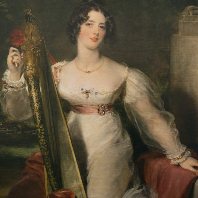 Portrait de Madame Elizabeth Conyngham - Sir Thomas Lawrence (1769-1830) Angleterre - 1824 - huile sur toile - Musée Calouste Gulbenkian - Lisbonne