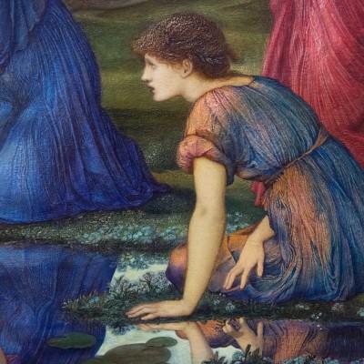 Le miroir de Vénus - Sir Edward Burne-Jones - (1833-1898) Angleterre 1877 Huile sur toile - Musée Calouste Gulbenkian - Lisbonne
