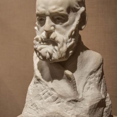 Portrait de Victor Hugo  - Auguste Rodin (1840-1917) - France 1886-88 - Marbre - Musée Calouste Gulbenkian - Lisbonne