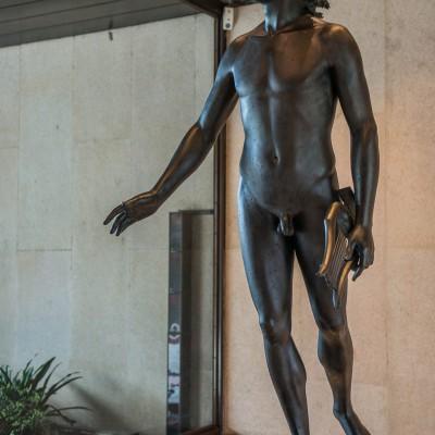 Apollon - Jean-Antoine Houdon (1741-1828) France - 1790 - Bronze - Musée Calouste Gulbenkian - Lisbonne