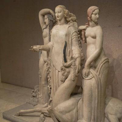 Alfred Janniot (1889-1969), Le printemps ou Hommage à Jean Goujon - Museu Calouste Gulbenkian. Lisbonne