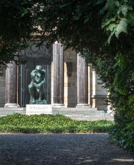 Le Penseur de Rodin à Meudon
