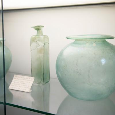 Mobilier d'une sépulture d'époque romaine trouvée à Jambes