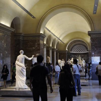 Salles du musée consacrées à l'art grec des époques classique et hellénistique