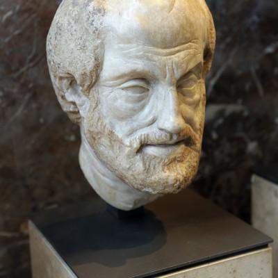 Platon, philosophe grec - IIe siècle après J.-C. Marbre