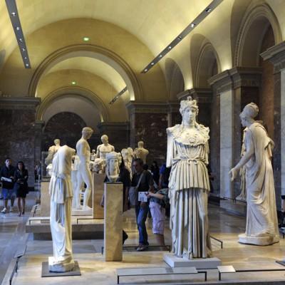 Salle d'art grec classique et hellŽnistique du Louvre