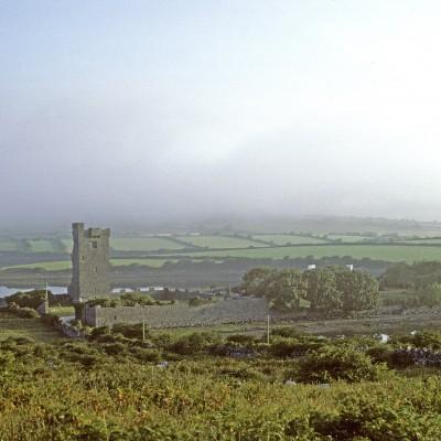Shanmuckinish Castle - Région des Burren - Comté de Clare près de Ballyvaghan