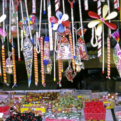Boutique de confiseries - Ville de Westport - Irlande 1984