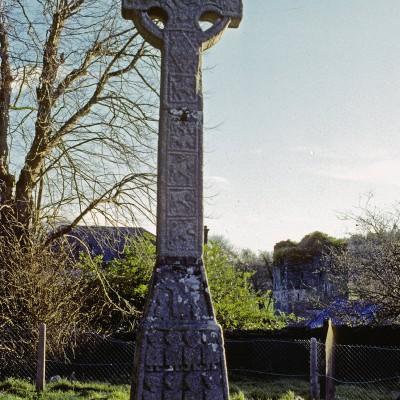 Haute-Croix de Moone  (vers Carlow) Irlande 1984