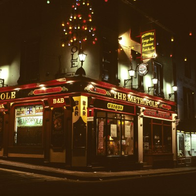 Un pub irlandais - Irlande 1984