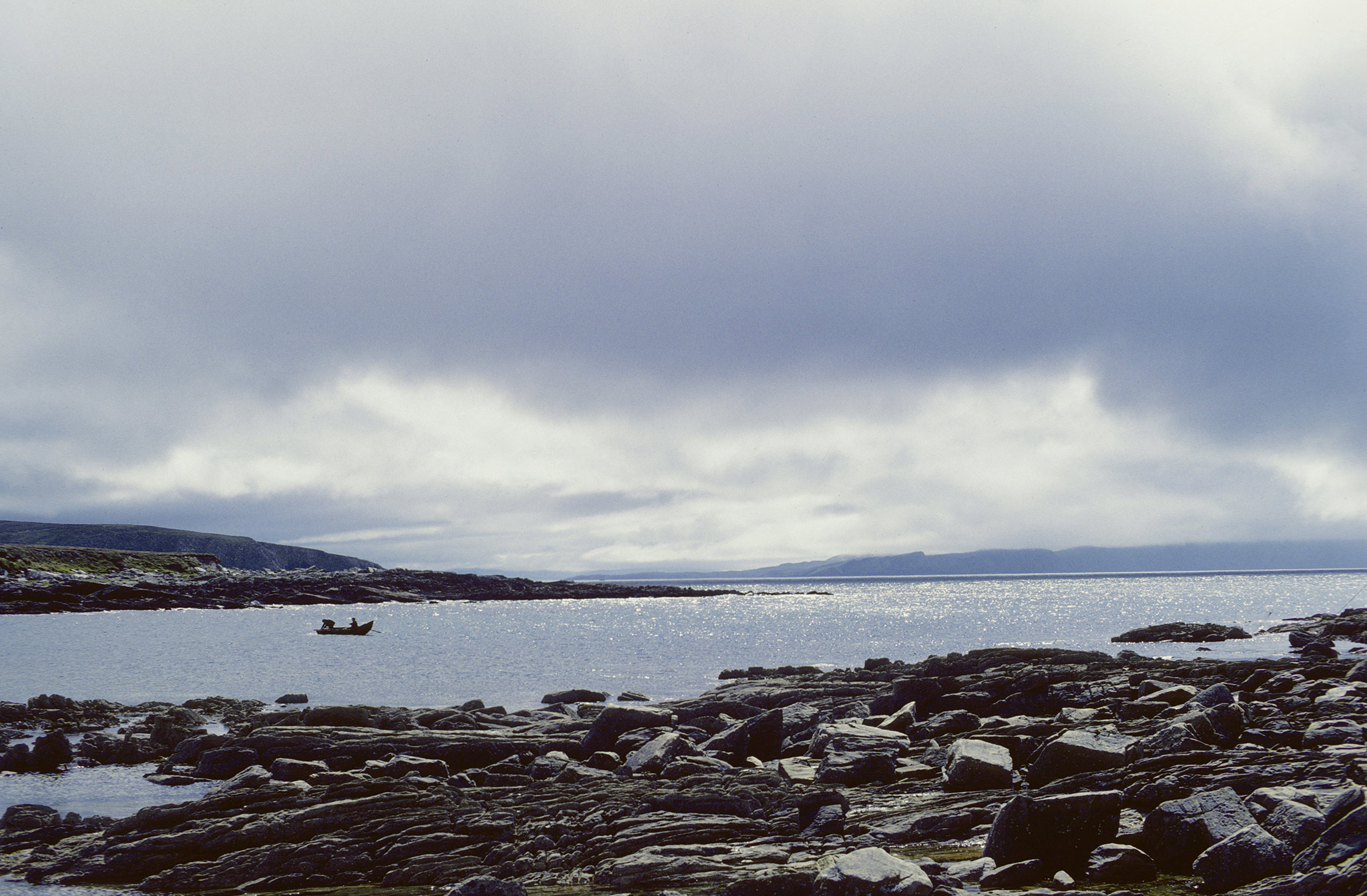 L'île d'Achill dans le Comté de Mayo est la plus grande île d'Irlande. Elle est située au large de la côte ouest.