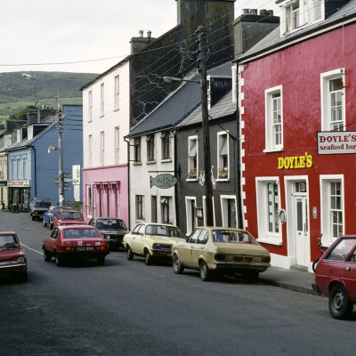 Ville de Dingle - Irlande 1984 - Péninsule de Dingle - Comté de Kerry