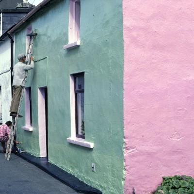 Ville de Dingle - Péninsule de Dingle - Comté du Kerry - Irlande 1984