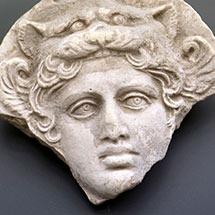 Tête de la déesse Artémis Bendis - Taranto IVesiècle avan