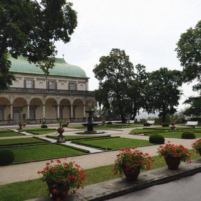 Le Belvédère également appelé palais d'été.