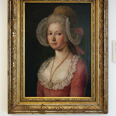 Jan Jakub Quirin Jahn - 1739-1802 - Portrait de femme avec bonnet - Musée du couvent Saint-Georges Prague 2011