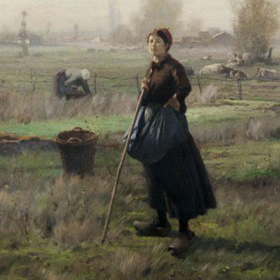 Václav Brožìk (1851-1901) - Julie Šamberková dans le rôle - Musée du couvent Saint-Georges Prague 2011