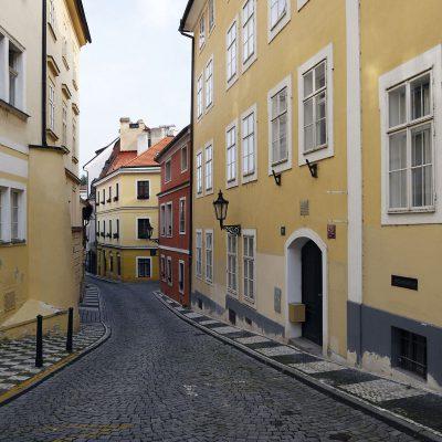 Quartier Malá Strana - rue Jánský višek