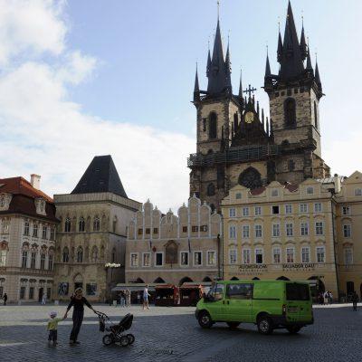 Place de la Vieille-Ville de Prague.