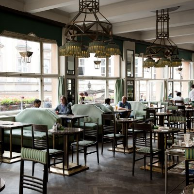 Le Grand Café Orient Prague.