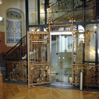 Hôtel Central K+K Style Art Nouveau.