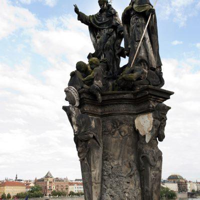 Statue Saint Vincent Ferrier et Saint ProcopeFerdinand Maxmilián Brokoff, 1712.