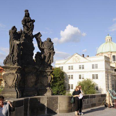 Saints Thomas d´Aquin et DominiqueMatej Václav Jäckel, 1708.