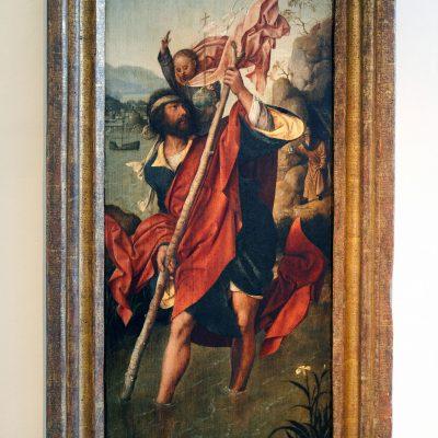 Jan de Beer 1490-1515 - Saint Christophe