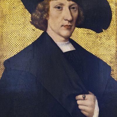Šternberg Palace, Prague. Portrait of a Man with a Carnation - 1525