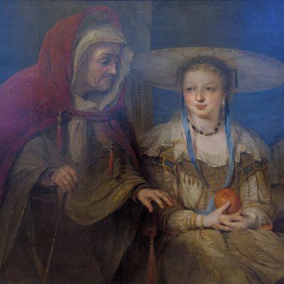 Arent de Gelder Vertumnus et Pomona 1645-1727 - Palais Sternberg