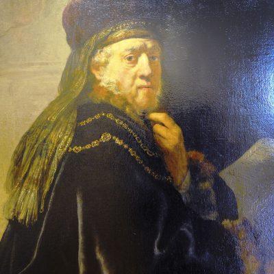 Érudit dans son cabinet - 1634 - Rembrandt.