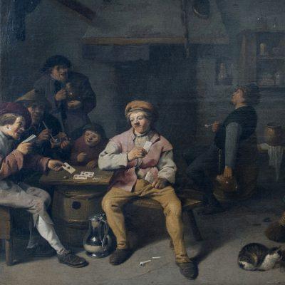 Pieter de Bloot - Rotterdam 1601 ? Joueurs de cartes dans une taverne.