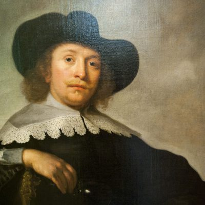 Portrait d'homme , Bartholomeus Van Der Helst, Amsterdam 1670.