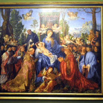La fête du rosaire d'Albrecht Dürer.