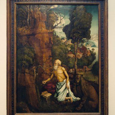 Hans Dürer St-Jérome Pénitent
