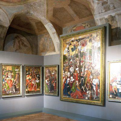 Hans Raphon - The Passion Altar 1499. Le Palais Sternberg