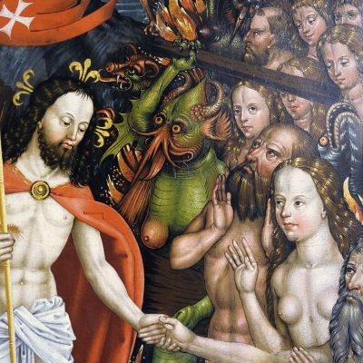 Hans Raphon - The Passion Altar 1499 - Palais Sternberg