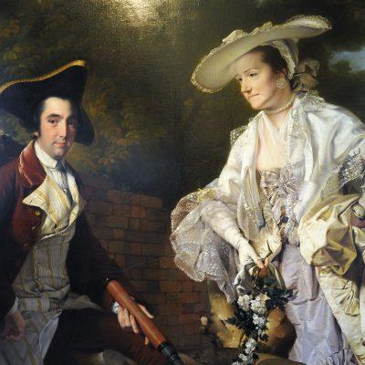 Joseph Wright of Derby (1734–1797) - Peter Perez Burdett et sa première femme Hannah.